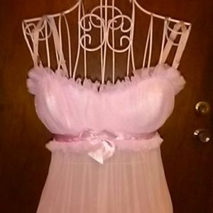 🔶🔶3 for $13 DELICATES  Pink Nightie Size S
